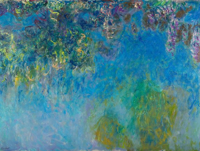 Wisteria (1925), Claude Monet