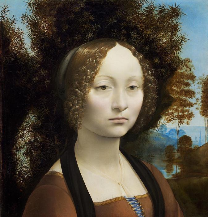 Ginevra de Benzi portréja, Leonardo da Vinci