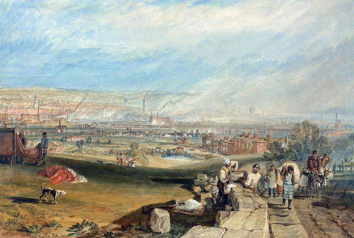 Leeds látképe (1816), William Turner