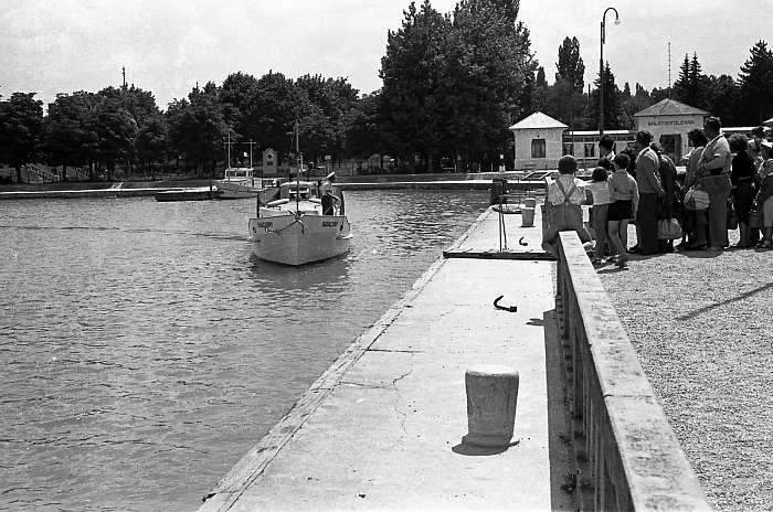 Balatonföldvári kikötő, FORTEPAN