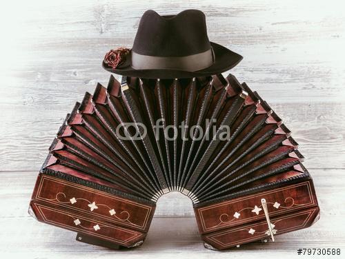 Bandoneon tango eszköz, Premium Kollekció