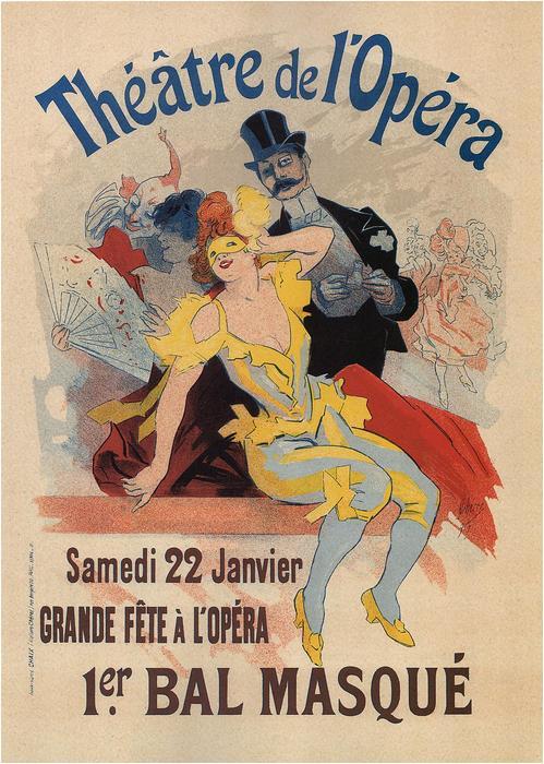 1.er Bal Masqué (Théatre del Opéra), Jules Chéret