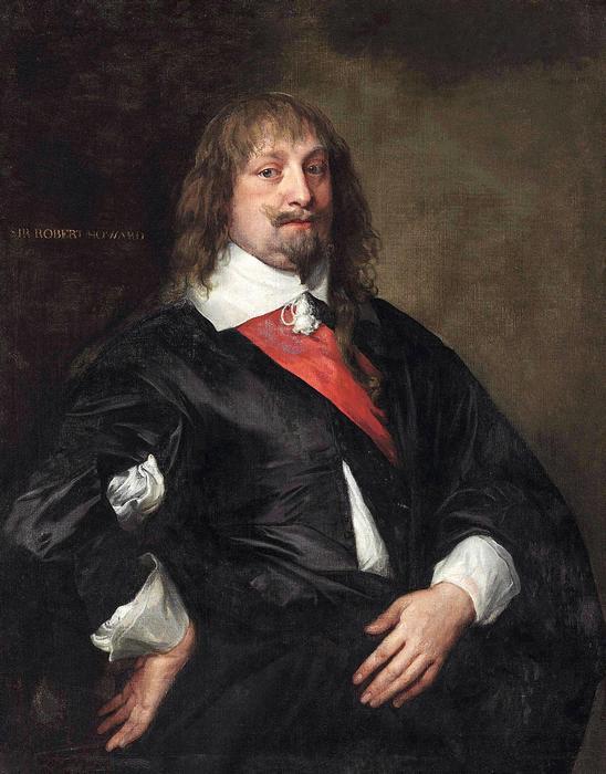Robert Howard portréja, Anthony van Dyck