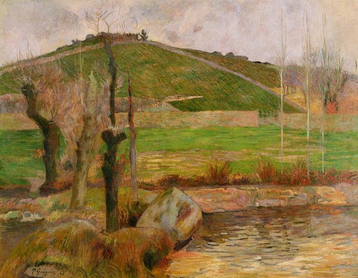 Tájkép Pont-Aven közelében (1888), Paul Gauguin