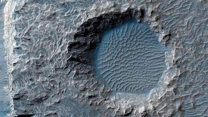 Upland Region, Aureum Chaos, Mars felszín, Fotóművészek