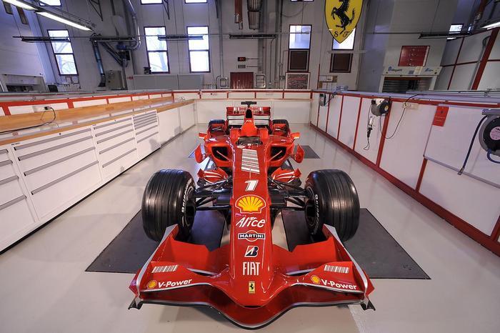 Ferrari versenyautó,