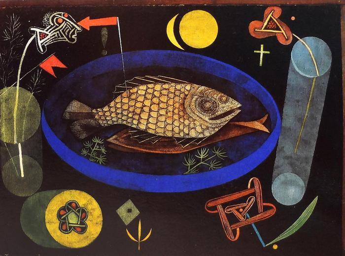 A hal körül (1926), Paul Klee