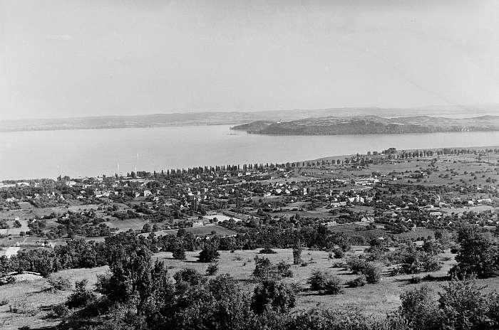 Balatonfüred látképe (1956), FORTEPAN