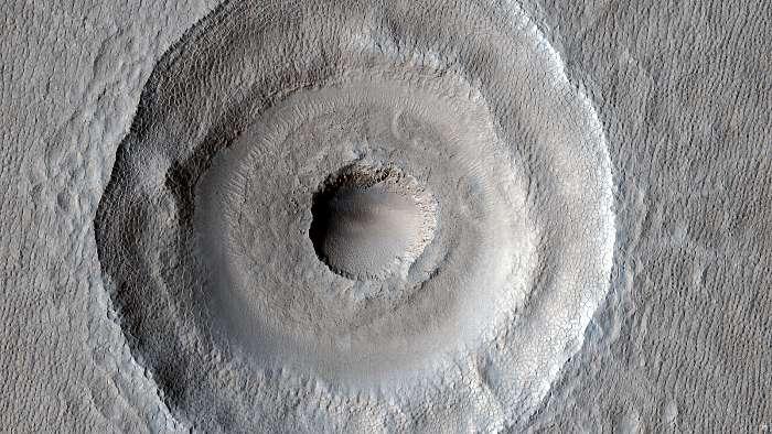 Bull's-Eye Impact Crater, Mars felszín, Fotóművészek