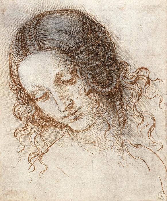 Léda portréja, Leonardo da Vinci