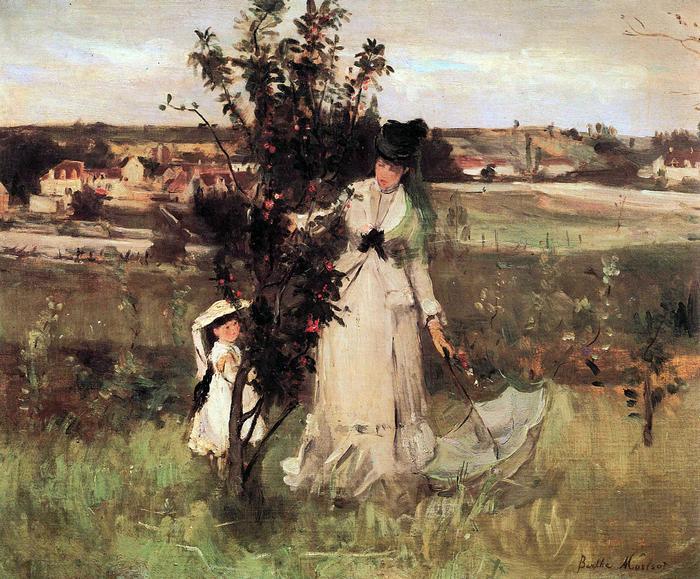 Bújócska, Berthe Morisot