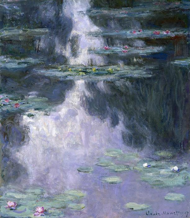 Tavirózsák (1907), Claude Monet