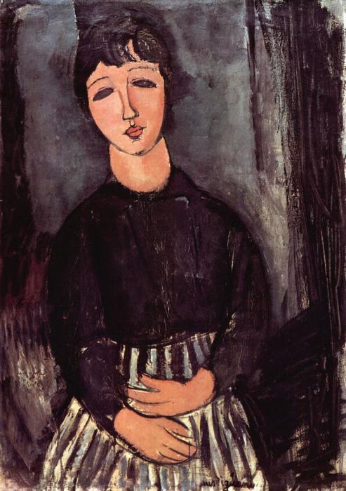 Abigél portréja, Modigliani