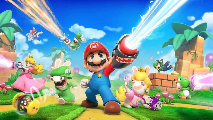 Mario Rabbids Kingdom Battle Poszter,