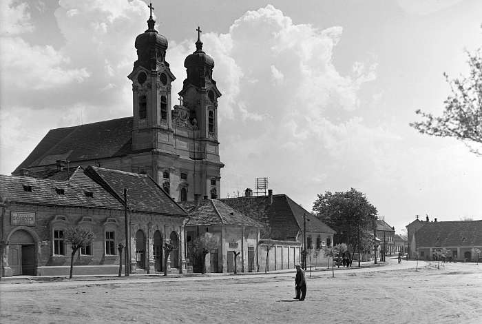 Tatai városkép (1959), FORTEPAN