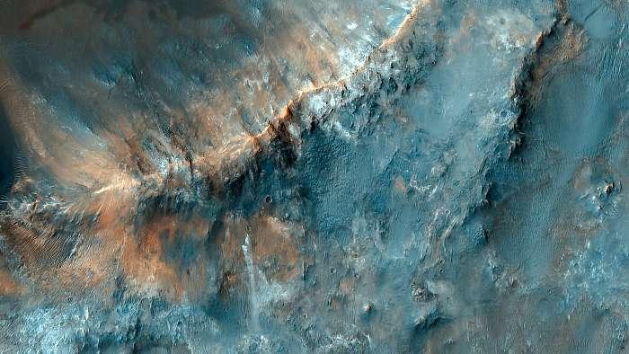 Mars felszín, Nili Fossae-hoz közel, Fotóművészek