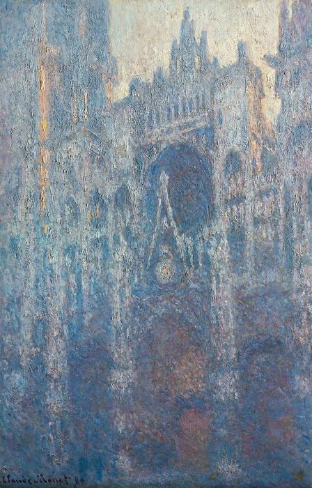 A Rouen-i katedrális, reggel (1894), Claude Monet