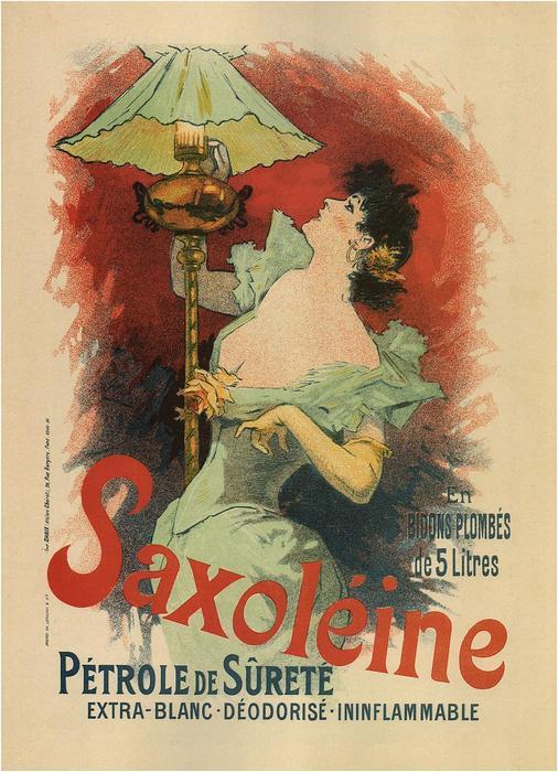 Saxoléine Pétrole de Surete, Jules Chéret