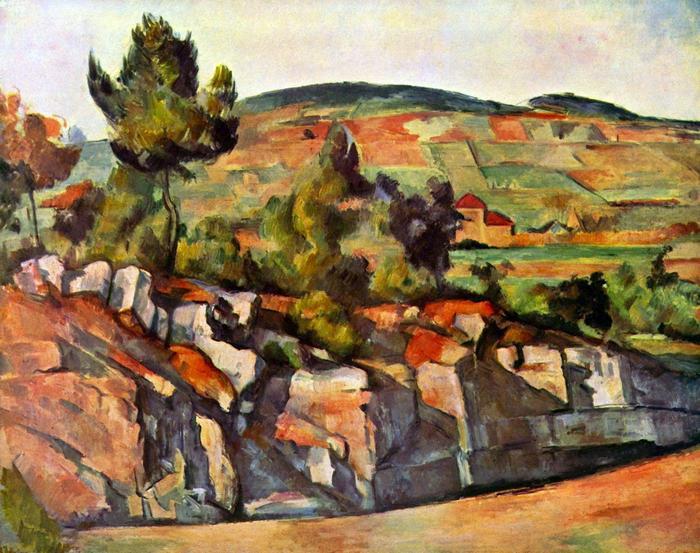 Hegy Provenceban, Paul Cézanne