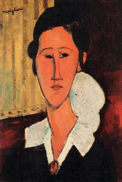 Anna Zborowska portréja, Modigliani