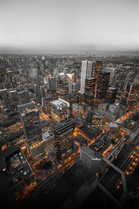 Torontó felhőkarcolói,