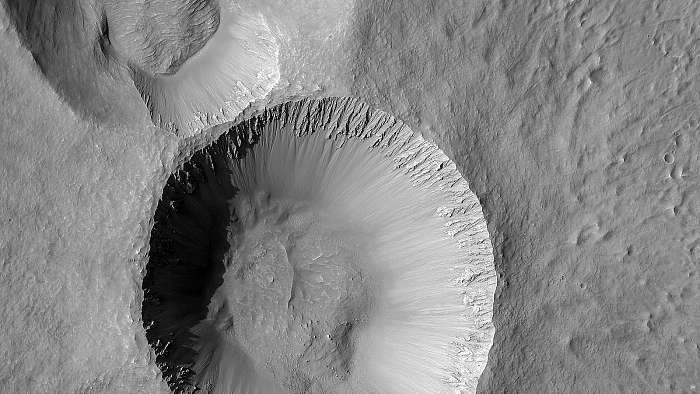 Kráterek a Mars felszínén, Fotóművészek