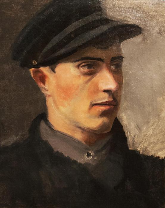 Férfi portré, Mednyánszky László