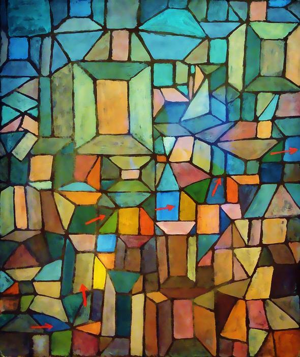Út a Citadellára - Feldolgozás, Paul Klee