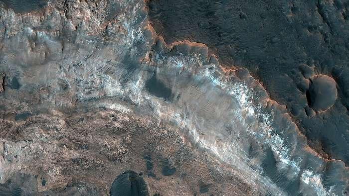 Mawrth Vallis Crater. Mars felszín, Fotóművészek