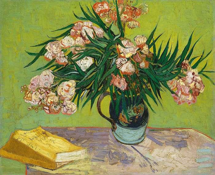 Csendélet leanderekkel, Vincent Van Gogh