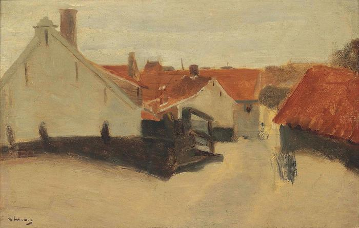 Utca Scheveningen-ben , Max Liebermann