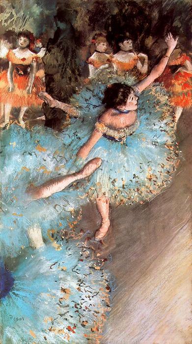 Balett-táncosok, Edgar Degas
