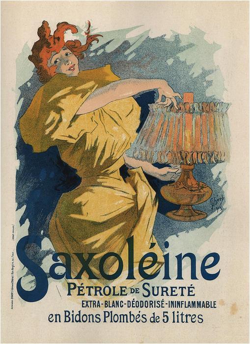 Saxolénie Pétrole de Sureté, Jules Chéret