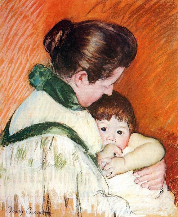 Anya gyermekével, Mary Cassatt