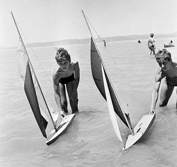 Balatonszemes, Hajómodellező Országos Bajnokság (1968), FORTEPAN