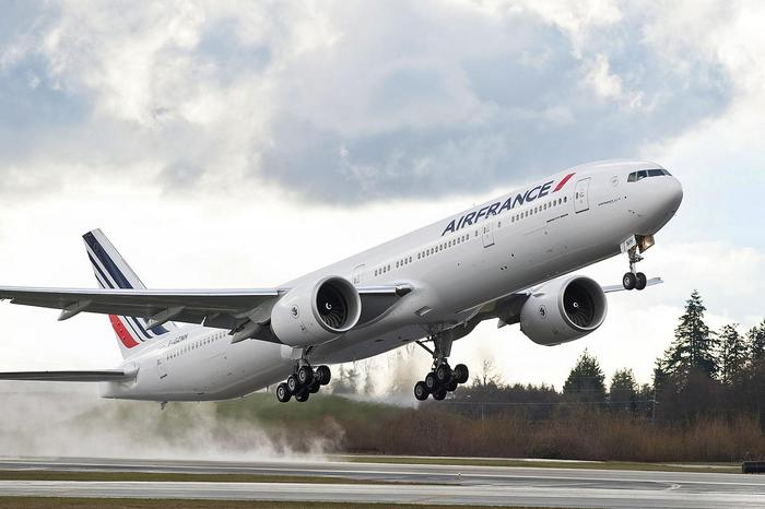 Boeing 777 Aerodrom Air France,
