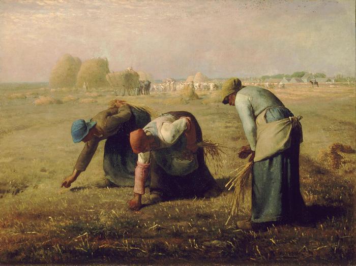 Kalászszedők (1857) - 2. színváltozat, Jean-François Millet