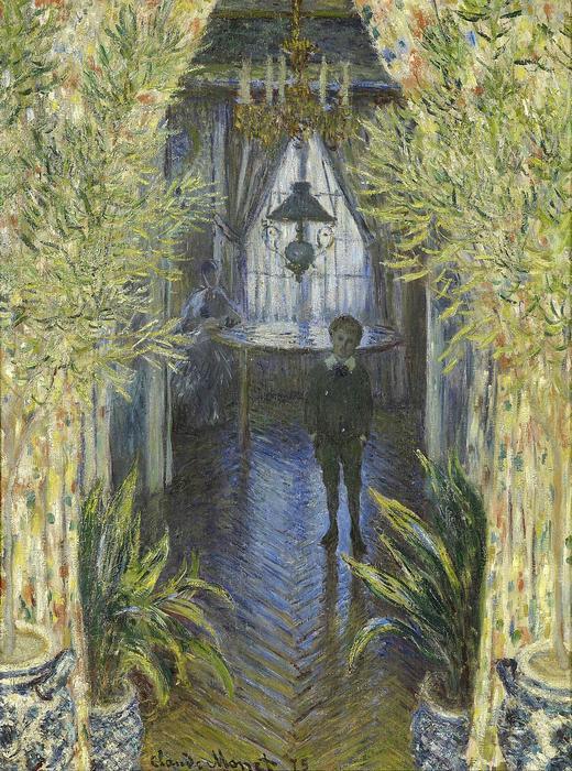 Fiú a házban (1875), Claude Monet