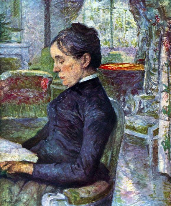 A grófné portréja, Henri de Toulouse Lautrec
