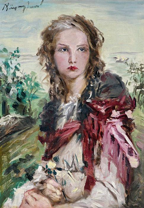 Lány sárga rózsával, Náray Aurél