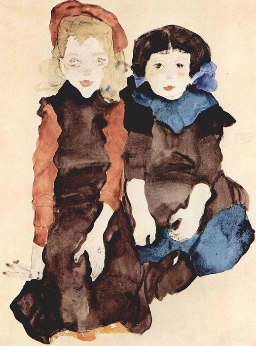 Kislányok, Egon Schiele