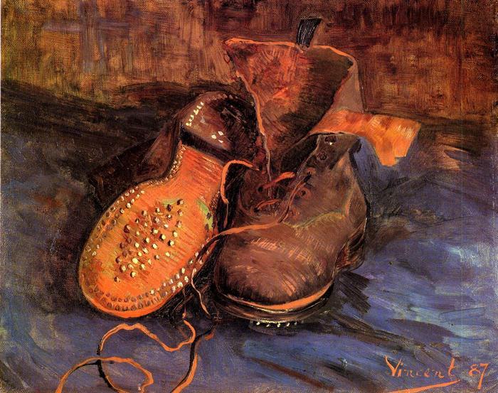 Egy pár cipő (1887), Vincent Van Gogh