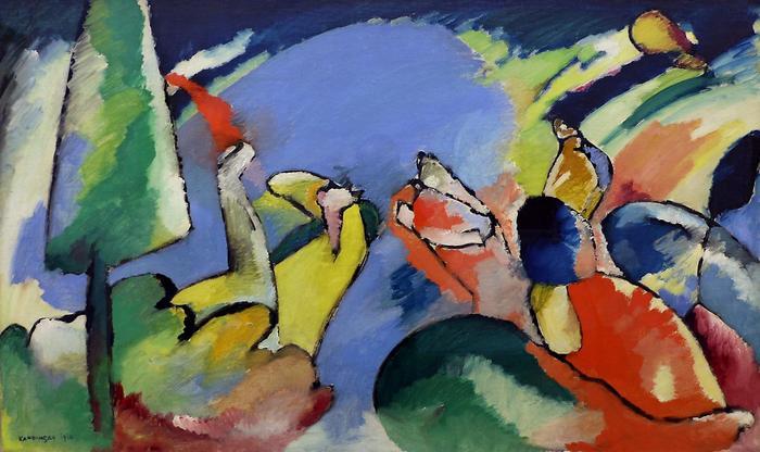 Improvizáció XIV (1910), Vaszilij Kandinszkij