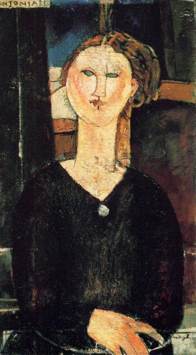 Antonia, Modigliani