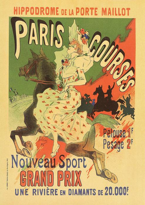 Paris Courses Grand Prix, Jules Chéret