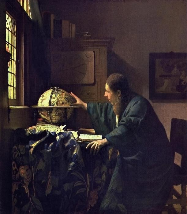 Az asztronómus, Jan Vermeer