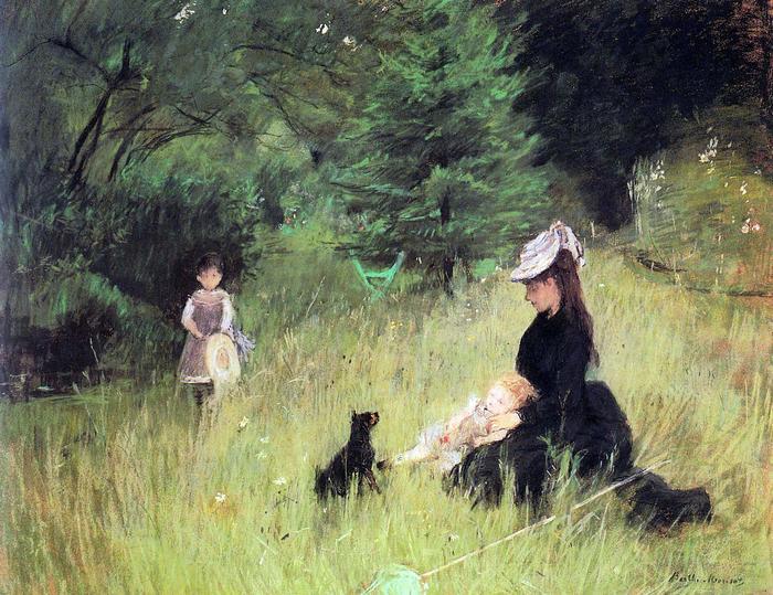 A réten, Berthe Morisot