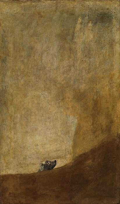 Kutya (c.1820), Francisco José de Goya