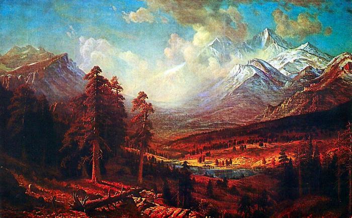 Estes Park, Albert Bierstadt