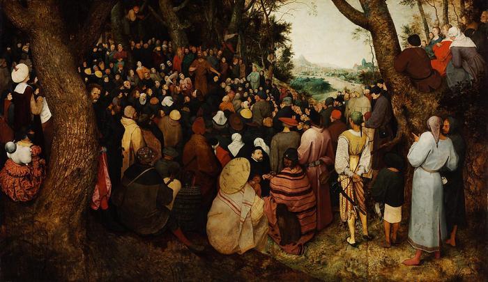 Keresztelő Szent János prédikációja, Pieter Bruegel the Elder